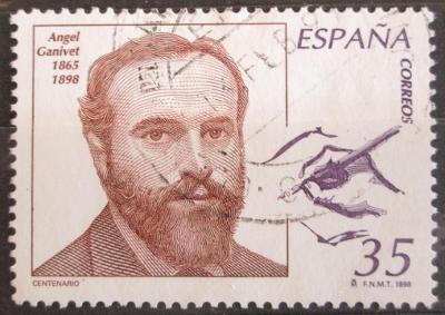 Španělsko 1998 Ángel Ganivet, spisovatel a diplomat Mi# 3422 0622