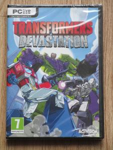 Transformers: Devastation PC nová,zabalená