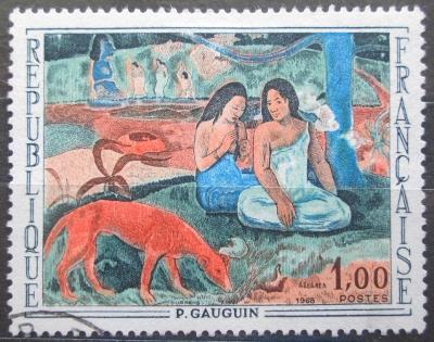 Francie 1968 Umění, Gauguin Mi# 1635 0622