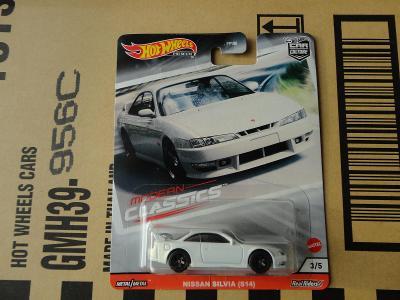 Hot Wheels Nissan Silvia (S14).Rozbalený.Krabička je otevřena.