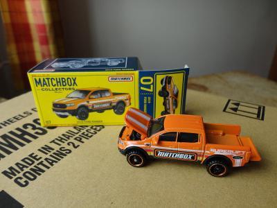 Matchbox Collectors.2019 Ford Ranger.Rozbaleno.