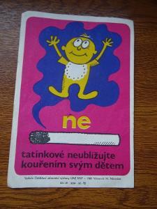ETIKETA - M .NĚMEČEK 1980