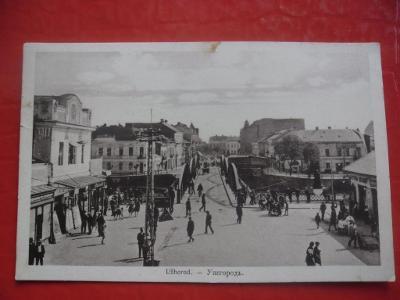 SLOVENSKO ZAKARPATSKÁ UKRAJINA UŽHOROD UNGVÁR
