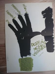 Dospěláci můžou všechno (filmový plakát, film ČSSR