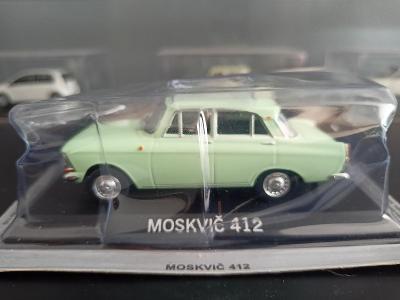 Model Moskvič 412