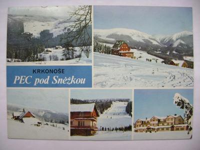 Krkonoše Pec pod Sněžkou Žižkova a Mělnická bouda Richtrovy boudy - 5