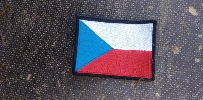NÁŠIVKA, VLAJKA ČR