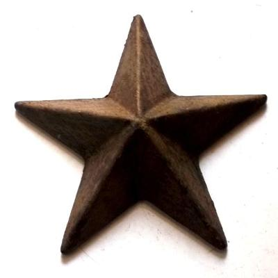 Velká pěticípá Hvězda plaketa ,medaile 90x90x35 mm ,pěkná ,ČSR