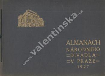 Almanach Národního divadla v Praze, 1927