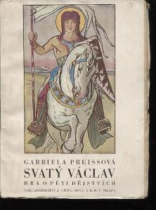 Svatý Václav (podpis Gabriela Preissová)