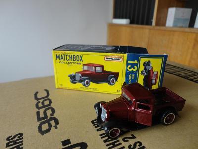 Matchbox Collectors.1932 Ford Pickup.Rozbaleno.