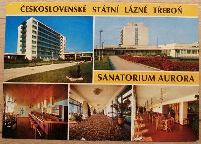 Čsl. lázně okénková 1983 - Třeboň