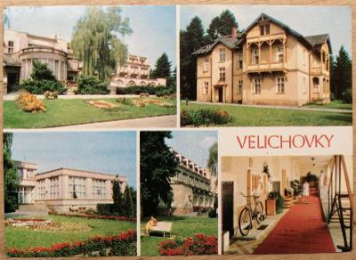 Čsl. lázně okénková 1982 - Velichovky
