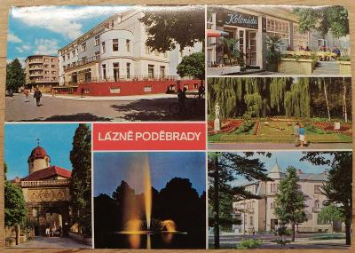 Čsl. lázně okénková 1975 - Poděbrady
