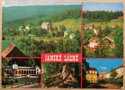 Čsl. lázně okénková 1980 - Jánské Lázně