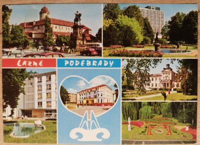 Čsl. lázně okénková 1987 - Poděbrady