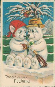 14B1071 Pohlednice - přání k novému roku