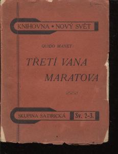 Třetí vana Maratova (Knihovna Nový svět)