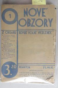 Nové obzory, ročník I. (bez čísla 8)