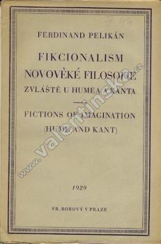 Fikcionalism novověké filosofie...