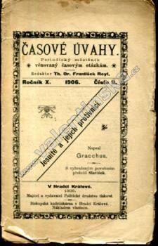 Jesuité a jejich protivníci (Časové úvahy, 9/1906)