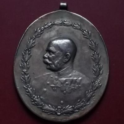 Stříbrné vyznamenání František Josef I. Zasluha oKoně Monarchie,Jauner