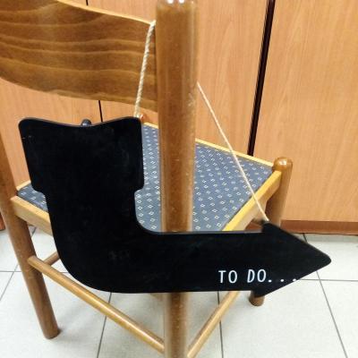 Závěsný ukazatel TO DO - UDĚLAT / 33x23 cm