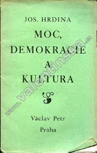 Moc, demokracie a kultura