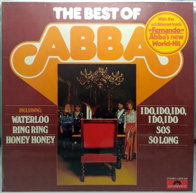 ABBA – The Best Of ABBA 1976 Germany Vinyl LP 1.press