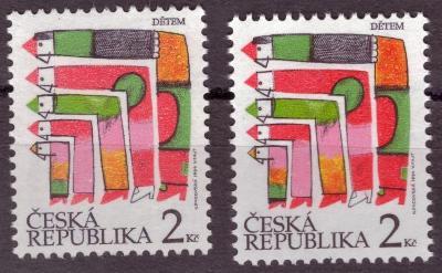 POF. 41a - MDD, 1994 - JASNĚ ČERVENÁ (S3285)