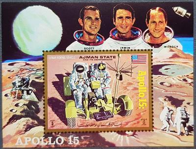 Ajman kosmos, Apollo 15, 1ks aršík
