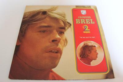 Jacques Brel - Ne Me Quitte Pas -top stav- Orig. France 1975 - 2LP