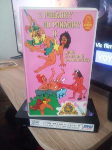VHS Z pohádky do pohádky 2. Aneb kreslené pornohratky