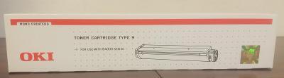 Toner OKI Typ 9 - P/N 01103402, originální toner v originálním balení