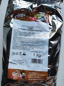 prášková směs teplého nápoje punč s příchutí svařená švestka 1 kg