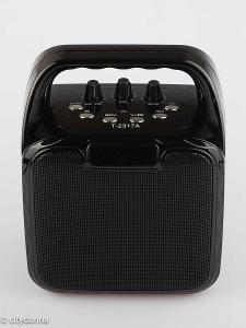 Bezdrátový reproduktor pro Karaoke ATOM T-2317A/ 10W/ 2400mAh/ Od 1Kč