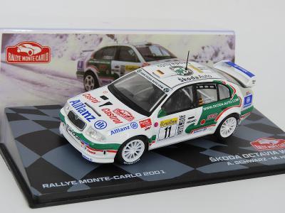 Škoda Octavia Rally 2001 Schwarz 1:43 IXO Altaya