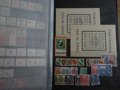 Zbierka známok Nemecko - zásobník I
