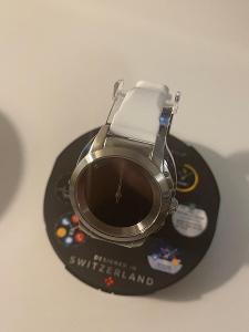 Original smart hodinky MyKronoz ZeTime Silver/White, nové!