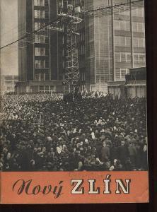 Nový Zlín (Gottwaldov) - Baťa 1948, tisk Neubert