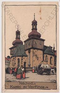 Náchod - kostel sv. Vavřince