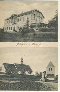 Václavice - kostel, restaurace Dobenín