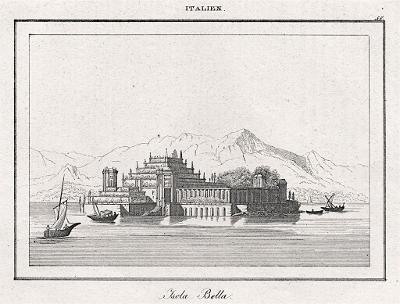 Isola Bella, Le Bas, oceloryt 1840