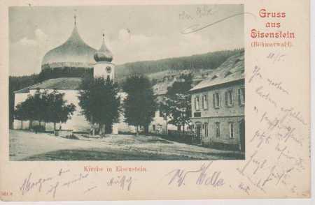 Železná Ruda, Šumava (Eisenstein, Böhmerwald), kos