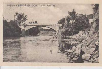 Veselí nad Moravou, most Svobody