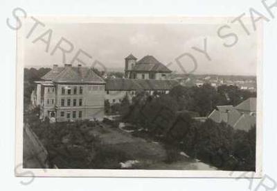 Veselí nad Moravou Hodonín částečný záběr města Gr