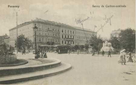 Bratislava (Pozsony- Presburg)- hotel, tramvaj