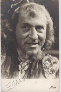 Eduard Kohout, originál fotografie s podpisem