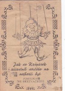 POHÁDKA - JAK KAŠPÁREK SOUTĚŽIL  - 11-EG65