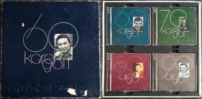 8xCD BOX Karel Gott 60 - Výroční edice (PODEPSANÁ !)